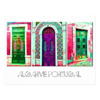 Postcard: Portuguese doors Postcard