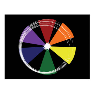 Postcard PRIDE COLOR WHEEL