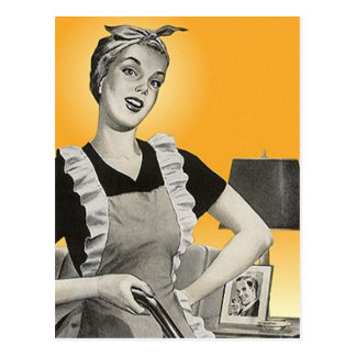 Postcard Promotional Ad For House Cleaning Service