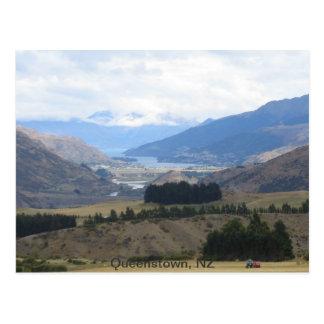 Postcard Queenstown New Zealand