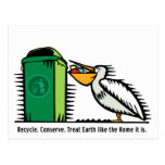 "Postcard: ""Recycle, Conserve"""