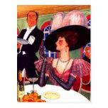 Postcard Retro Fashions Vintage Edwardian Style