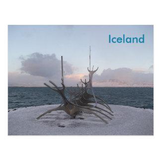 Postcard: Reykjavik Iceland Postcard