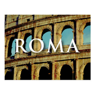 Postcard Rome Italy Europe Wanderlust