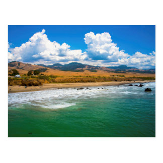 Postcard Seashore California