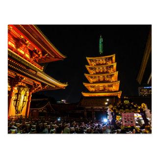 Postcard Senso-JI Temple, Asakusa, Taito-ku, Tokyo