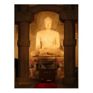 Postcard Seokguram Grotto (Buddha), South Korea