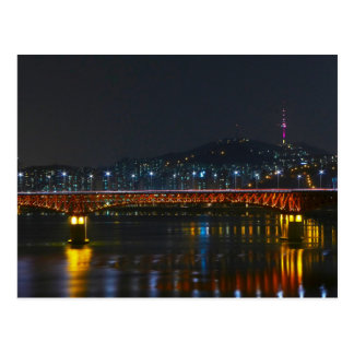Postcard Seongsu Bridge/Seoul Tower, South Korea