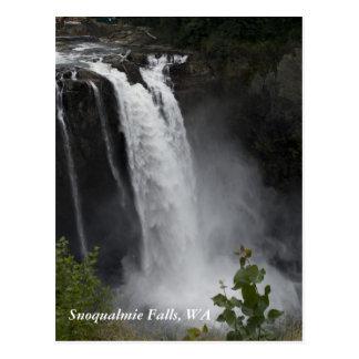 Postcard:  Snoqualmie Falls, WA Postcard