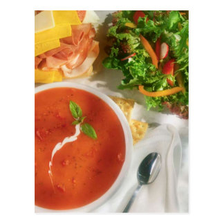 POSTCARD SOUP SALAD AND SANDWICH