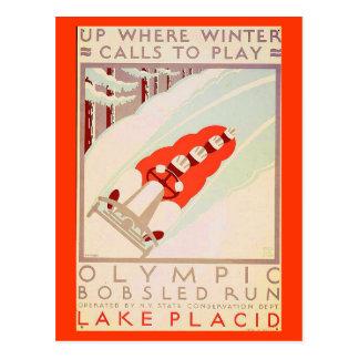 Postcard-Sports/Games-Vintage Sports Art 17 Postcard