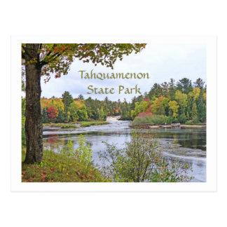 POSTCARD/TAHQUAMENON STATE PARK IN AUTUMN (MICHIGA POSTCARD