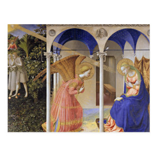 Postcard: The Annunciation by Fra Angelico Postcard