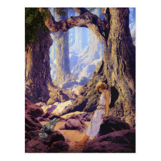 Postcard: The Enchanted Prince- Maxfield Parrish Postcard
