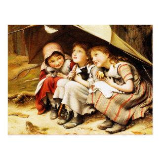 Postcard:  Three Little Kittens