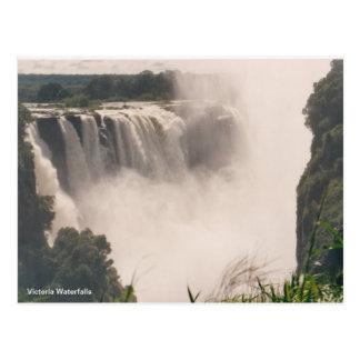 Postcard Victoria Waterfalls