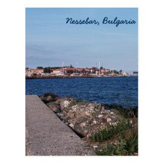 Postcard- view from Nessebar, Bulgaria Postcard