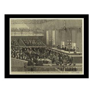 Postcard-Vintage Chicago Art-Anarchist Trial Postcard