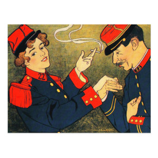 Postcard: Vintage Cigarette Ad: Sigarettenreclame Postcard