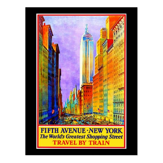 Postcard-VIntage Travel-New York 3 Postcard