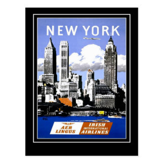 Postcard Vintage Travel New York America