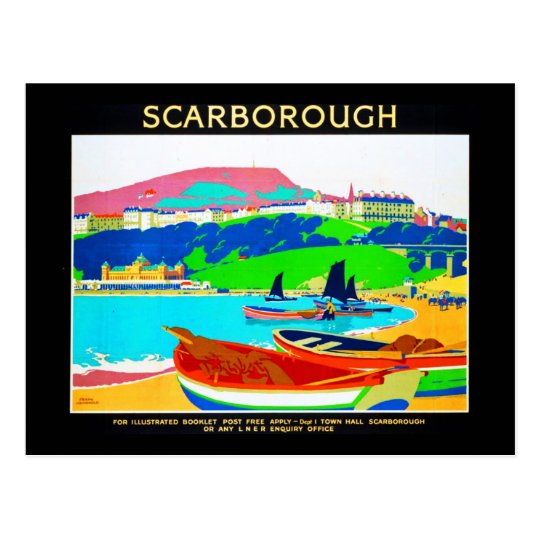 Postcard-VIntage Travel-Scarborough Postcard