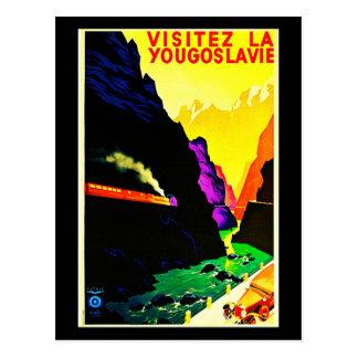 Postcard-Vintage Travel-Yugoslavia Postcard