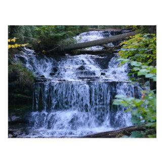 Postcard/Wagner Falls Michigan Postcard