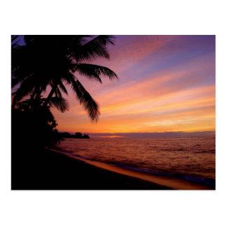 Postcard - Waialua Sunset