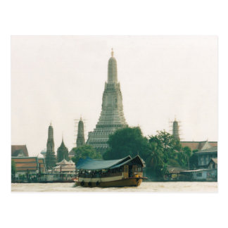 Postcard Wat Arun At Chao Phraya To rivet in