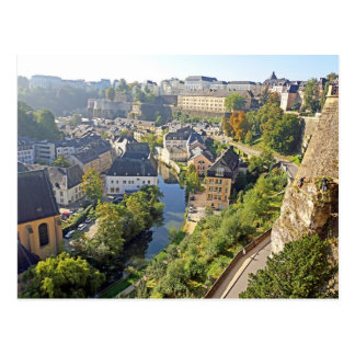 Postcard Way of the Cornice - Luxembourg