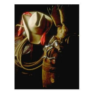 Postcard Western Cowboy Cowgirl All Occasion PC