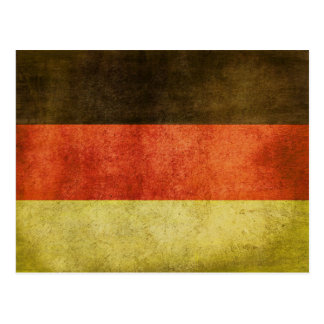 Postcard with Dirty Flag from Germany