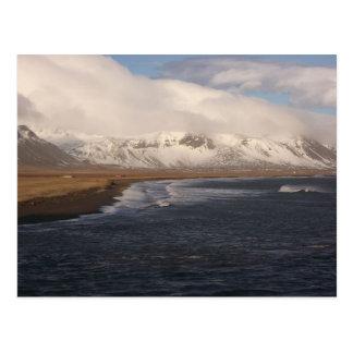 Postcard With Icelandic Scenery