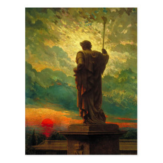 Postcard With James Carroll Beckwith Painting