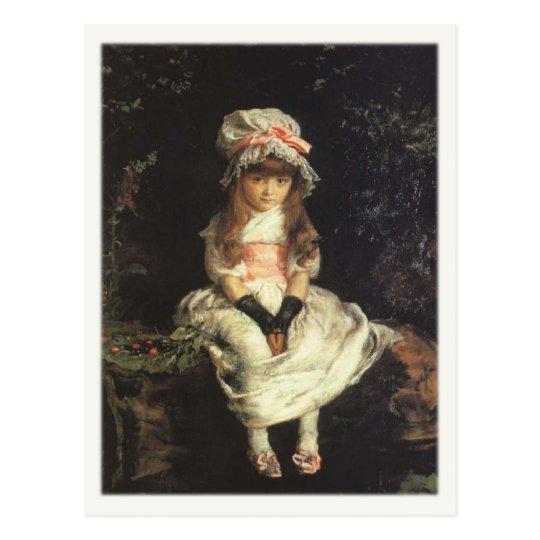 Postcard With John Everett Millais Painting