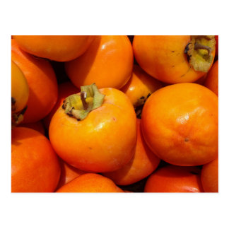 Postcard with persimmon