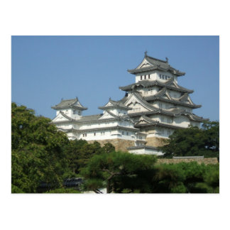 Postcard with view of Himeji Castle