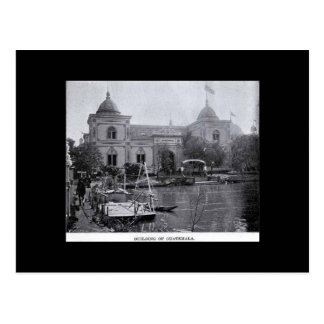 Postcard-World's Fair-Buidling of Guatemala Postcard