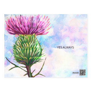 "POSTCARD ""YES ALWAYS"