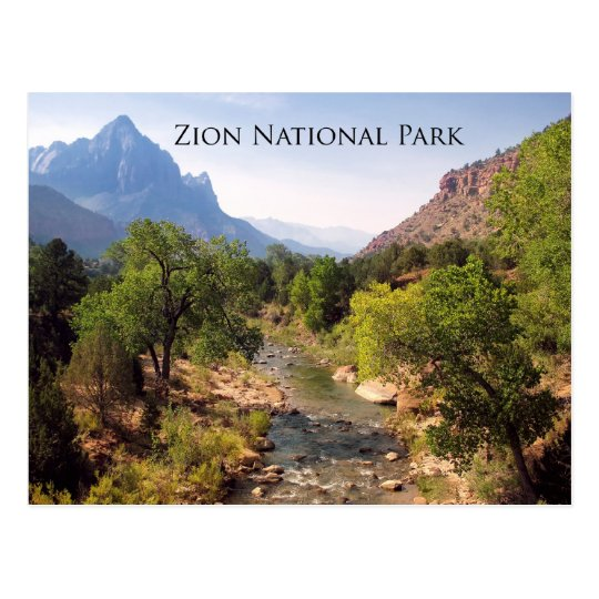 Postcard:  Zion National Park, Utah Postcard