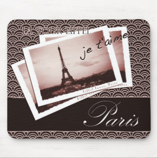 Postcards from Paris Vignette Mouse Pad