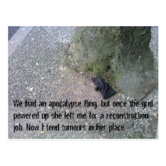 Postcards from the Post-Apocalypse #4 Love Story
