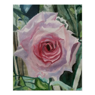 "Poster, 16x20 ""Romantic Rose"" by ALarsenArtist Poster"