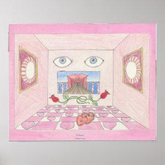 "Poster, 20x16 ""Valentine"" by Amber Larsen Poster"
