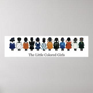"""Poster 36""""x12"""" LCG (twelve girls)"""