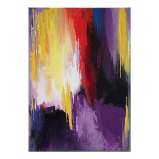 Poster Abstract Art