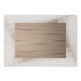 Poster Abstract Art Lines