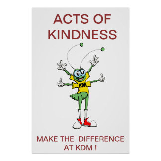 POSTER ACTS OF KINDNESS