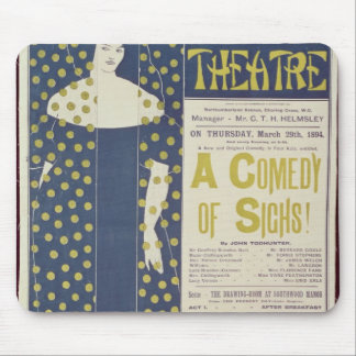 Poster advertising A Comedy of Sighs Mouse Pad